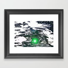 The Emerald That Lies Beneath  Framed Art Print