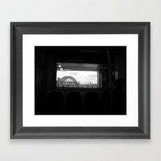 Sydney Morning Framed Art Print