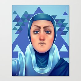 Police Princess Canvas Print