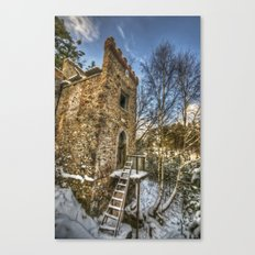 Snow tower Canvas Print