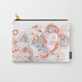 Tribal Paisley Carry-All Pouch