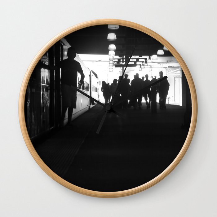 The One Fifteen To Penn Station Wall Clock