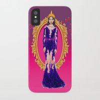 evil queen iPhone & iPod Cases featuring  Queen Grimhilde ( The Evil Queen ) by Sara Eshak
