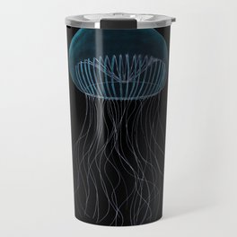 Bioluminescent Crystal Jelly Fish  Travel Mug