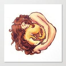 Reborn as a ferret Canvas Print