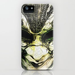 Venice -- A Fractal Dream in the City of Masks iPhone Case