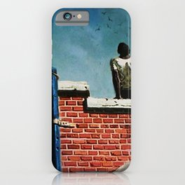 African American Masterpiece 'Freedom' by Hughie Smith iPhone Case