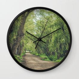 Camino a la imaginación Wall Clock