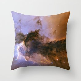 The Fairy of Eagle Nebula Throw Pillow