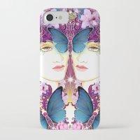 nouveau iPhone & iPod Cases featuring Nouveau by Kundalini Arts