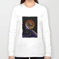 daenerys Long Sleeve T-shirts featuring Nightmare Halloween Zelda Link  by alexa