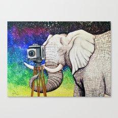Elephant II Canvas Print