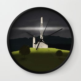 Light Of The Chapel Wall Clock