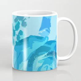 Blue Roses Coffee Mug