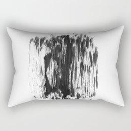 Abstract Dry Brush Rectangular Pillow