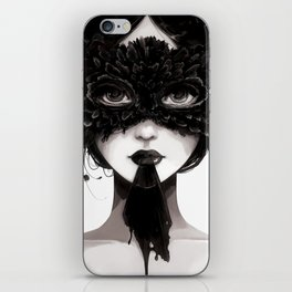 La veuve affamee iPhone Skin