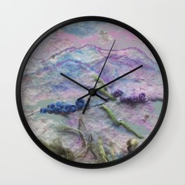 Evening over the Slieve Blooms Wall Clock