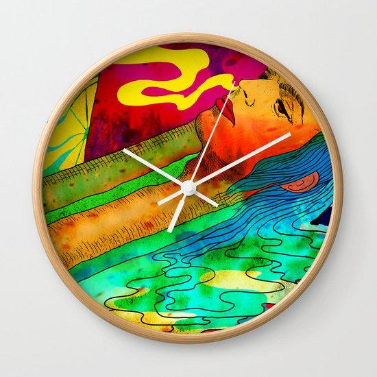 """""""Lux"""" by Steven Fiche Wall Clock"""