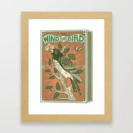 The Wind Up Bird Framed Art Print