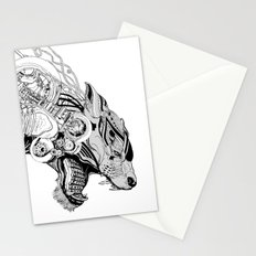 Roaring beast Stationery Cards