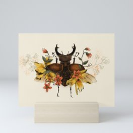 Blooming Beetle Mini Art Print