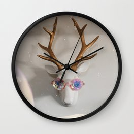 That 1970s Deer Wall Clock