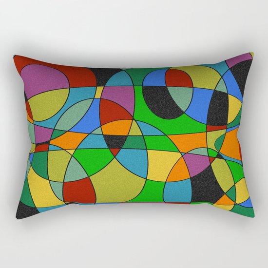 Abstract #94 Rectangular Pillow