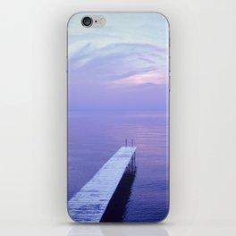 Long Dock Coastal Potography iPhone Skin