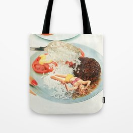 Toothpick Tote Bag