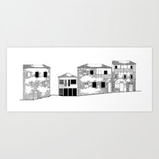 Traditional Settlement Art Print