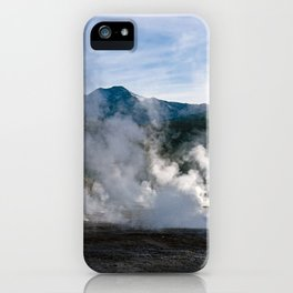 El Tatio Geysers in Chile iPhone Case