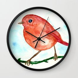 Redbreast Wall Clock