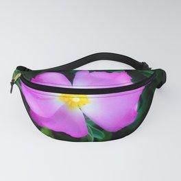 Purple Flower Power Fanny Pack