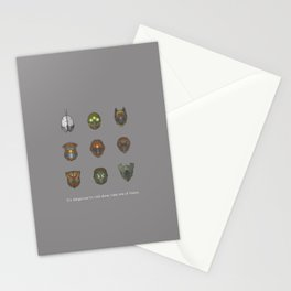 It's Dangerous to Raid Alone… Stationery Cards
