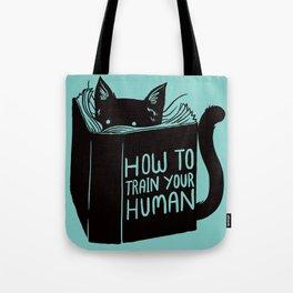 Cat Reader Advice Tote Bag