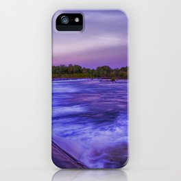 Early Morning at Ivanhoe crossing iPhone Case