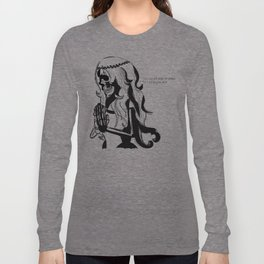 With this hand I will lift your sorrows. Long Sleeve T-shirt