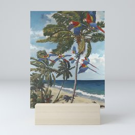 Parrots Flying East Mini Art Print