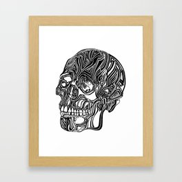 Death Mask No1 Framed Art Print