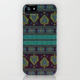 Persian Carpet Teal iPhone Case