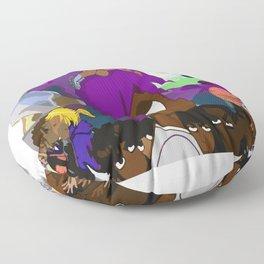 Lil uzi vert vs the world Floor Pillow