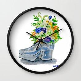 Shoe Garden Wall Clock