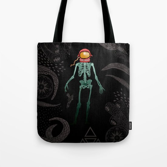 Eternal Celestial Sarcophagus Tote Bag
