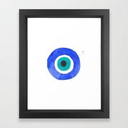 Evil Eye III Framed Art Print