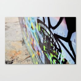 Thought in color Canvas Print