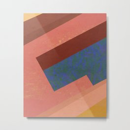 color blocks #4 Metal Print