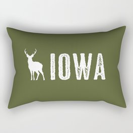 Deer: Iowa Rectangular Pillow