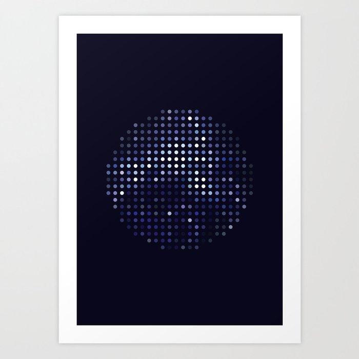 Mirrorball Art Print
