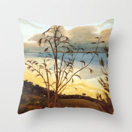 From Stradbroke Island, Qld. AUSTRALIA Throw Pillow