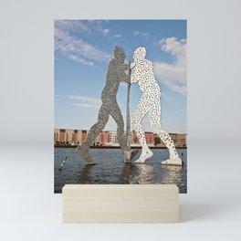 MOLECULMAN in BERLIN Mini Art Print